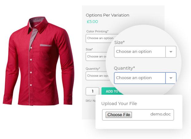 WooCommerce Custom Product Addons