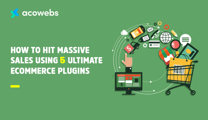 How To Hit Massive Sales Using 5 Ultimate Ecommerce Plugins
