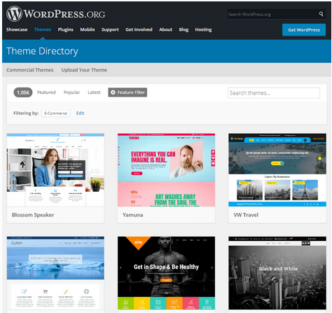 wordpress-orgs-thousands-of-themes