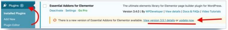 wordpress-updates-&-plugins