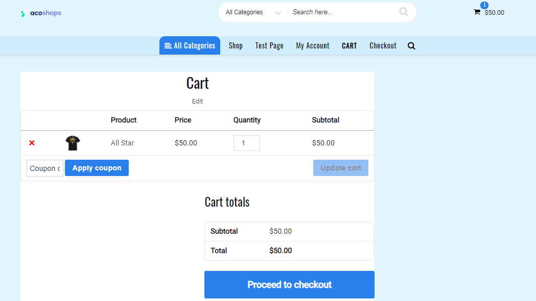 cart-page-shortcode