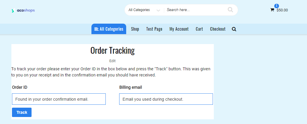 order-tracking-page