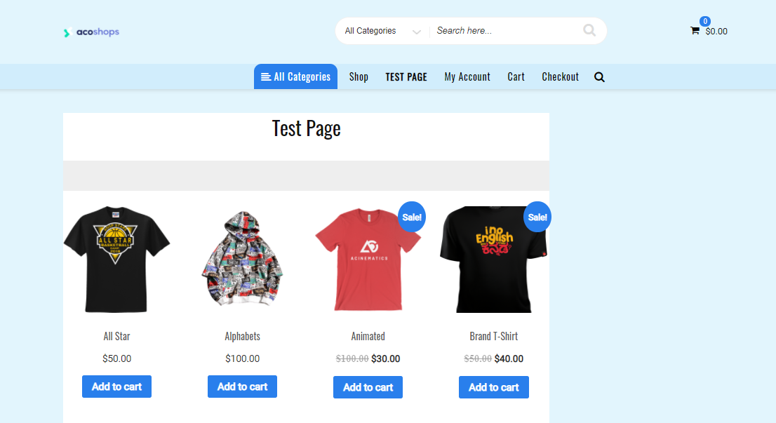 use-woocommerce-shortcodes-on-a-page