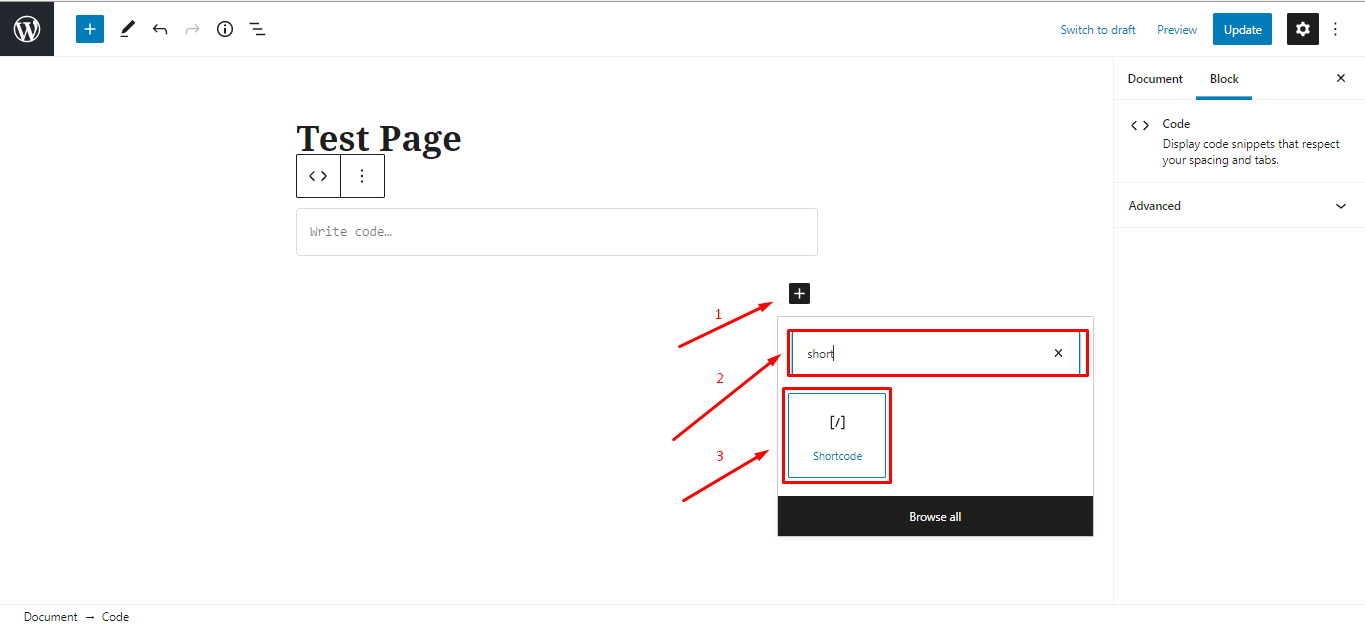 use-woocommerce-shortcodes-on-a-page-using-gutenberg-editor