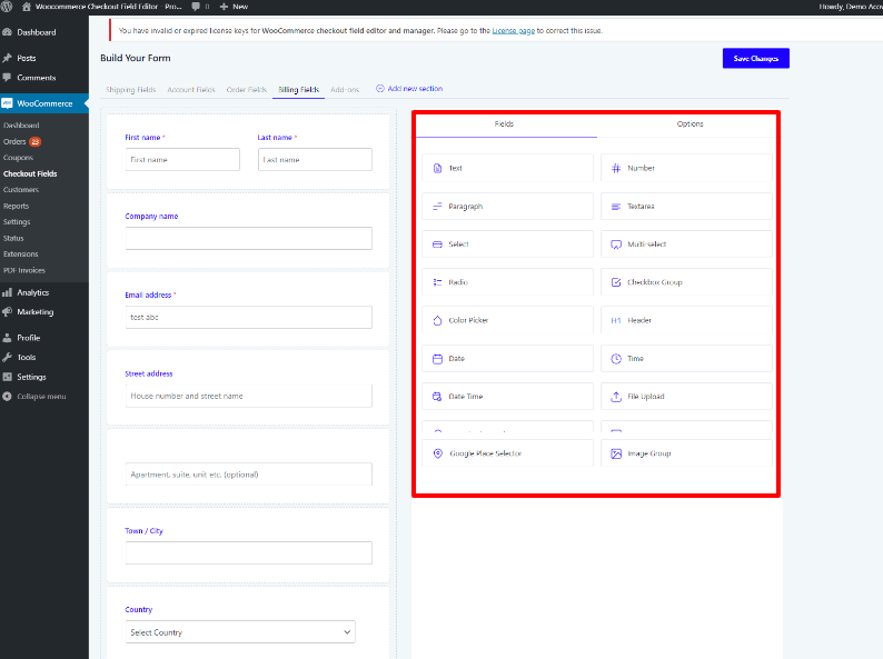 woocommerce-checkout-filed-editor