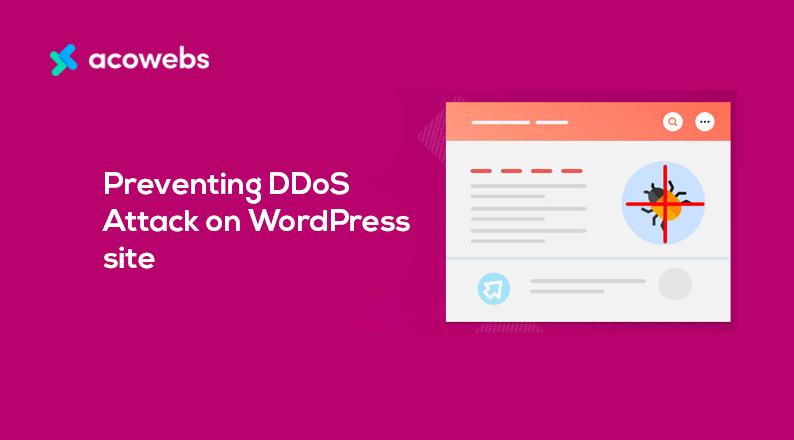 Preventing DDoS Attack on WordPress site