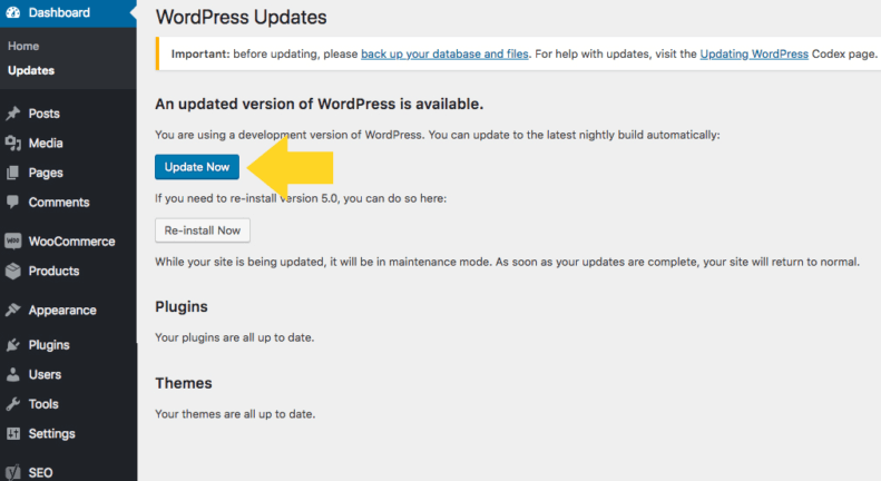 upgrade-to-wordpress-5-7-version