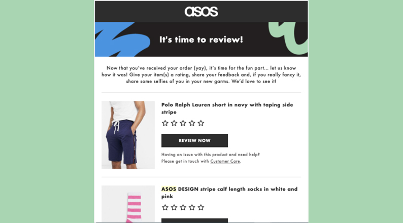 sample-post-purchase-survey
