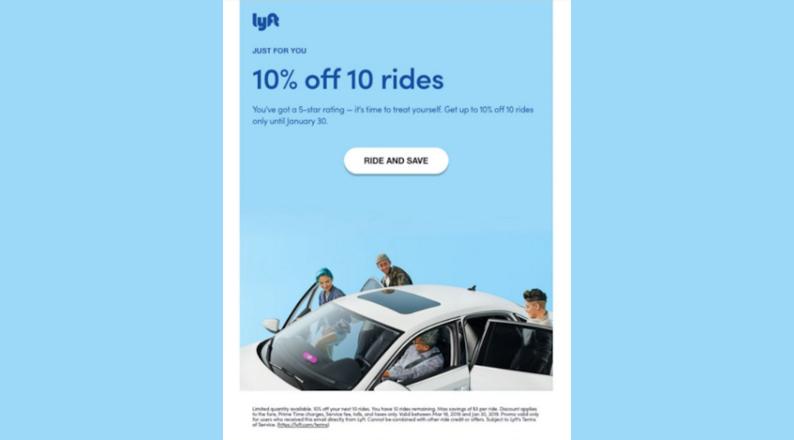lyft-email-marketing